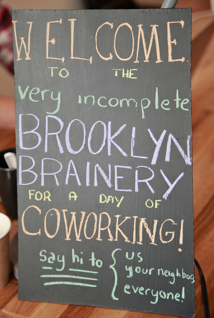 Brooklyn Brainery Coworking (Sarah Hoppes Photography)