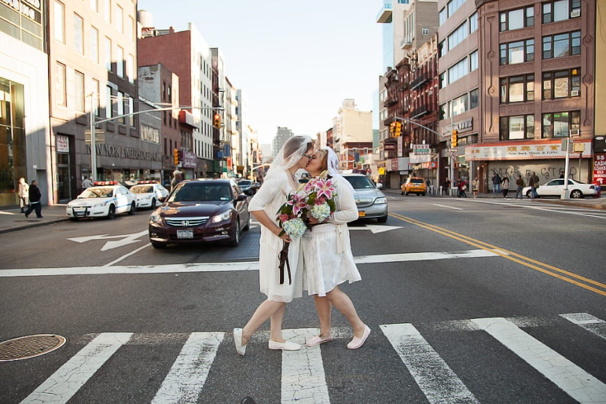LGBT Ally Photographer NYC Elopement