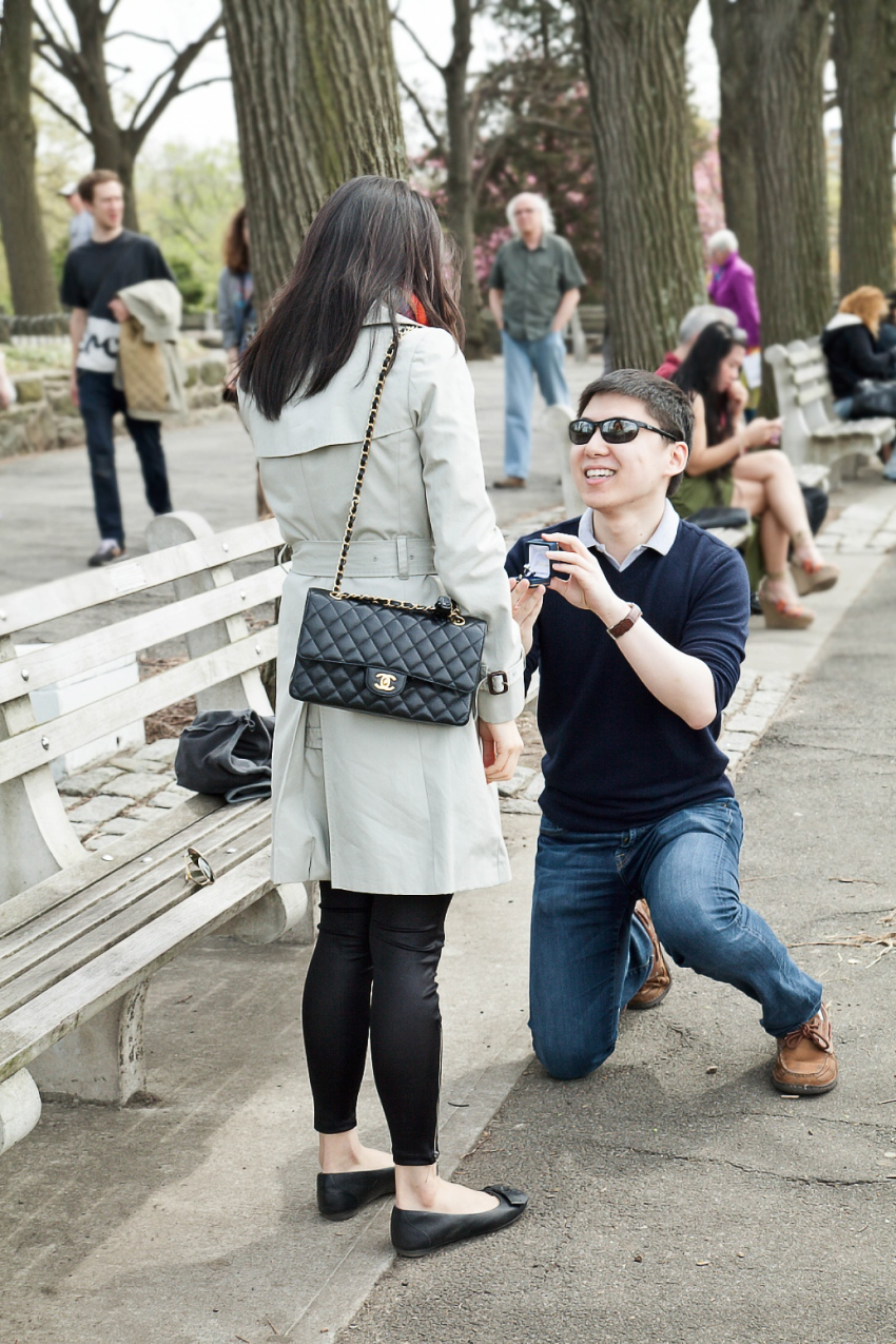NYC Proposal Photographer Sarah Hoppes