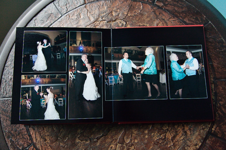 Ohio Wedding Album Dance